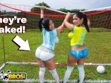 BANGBROS – Sexy Latina Pornstars With Big Asses Play Soccer And Get Fucked