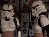 Vivid Parody – 2 Storm Troopers Enjoy Some Wookie Dick
