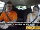 Fake Driving School Hot Italian Nympho Minx Valentina Bianco Craves Cock