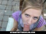 MyBabySittersClub – Petite Baby Sitter Caught Masturbating