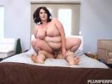 Chubby Big Belly Mom Fucks Sons Friend