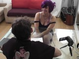 Angels With Horns UK Bareback Gangbang Sluts Casting Couch: Lila-Rose