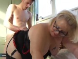 AgedLovE Chubby Mature Lexie Fucks Sam Bourne Hard
