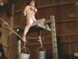 Tit Hanging And Torture