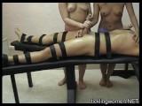 Amber & Naomi Femdom Handjob Post Orgasm Torture