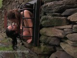 Two Slaves In Outdoor Bondage