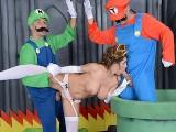 Mario And Luigi Parody Double Stuff – Brazzers