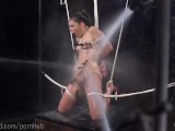 Grueling Rope And Water Torment
