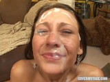 18 Year Old JESSICA VALENTINO Gangbang – Cover My Face