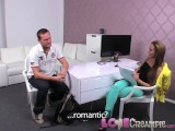 Love Creampie Big Cock Shoots A Ton Of Cum Deep Inside Casting Agents Pussy
