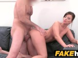 Fake Agent – Model Vicky Love Takes Cumload On Her Great Tits