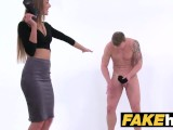 Female Agent English Stud Cheats And Pounds Sexy Agents Tight Pussy