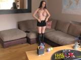 FakeAgentUK Anal Casting With McKenzie Lee