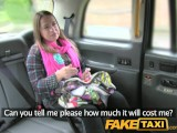 FakeTaxi Lady Sucks Cock To Pay For Her Cab