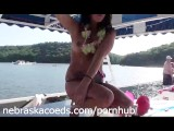 Lake Party With No Boundaries Nude College Girls On Vacation