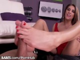 FootsieBabes August Ames Feety Temptress