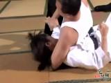 Japanese Female Judo Master Defeated And Xoxo