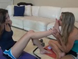 Foot Smelling & Worship Lesbian