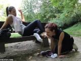Lesbian Foot Socks Slave