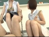 Japanese Double Footjob