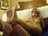 Tied Up Foot Worship/Tickle