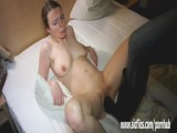 Brutally Fisting And Boot Fucking Her Teen Twat