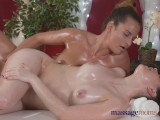 Massage Rooms First Time Lesbian Sex For Young Teen Virgin With Big Boobs