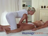 Massage Rooms Innocent Young Lesbian Has G-spot Orgasm With Teen Masseuse