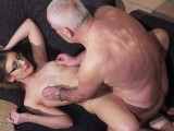 Old And Young Porn – Grandpa Fucks Teen Pussy Fingers Her Twat And Cumshot