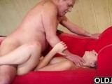 Fat Old Man Fucked By Beautiful Young Girl Teen Blowjob Cumshot Doggystyle