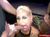 Super Sexy Busty Mom Is A Human Toilet – 666Bukkake
