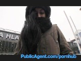 PublicAgent Homeless Girl Gets Fucked To Pay For Hotel