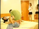 Russian Teen Natasha Fucked Threesome