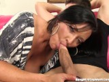 Sneaky Step-mom Seduces Her Step-son Into Sex