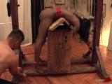 Ebony Beauty Gets Tied Up & Fucked