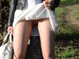 Jeny Smith No Panties Upskirt Fetish