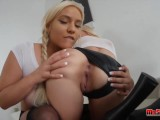 Alex Grey And Kylie Page Get Fucked In Three Way