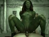 Gamora Fucks Star-Lord Hard Aboard The Milano – Gnardians Of The Galaxy SC1