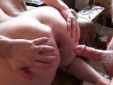 Fucking My Wife In Her Wide Open Asshole