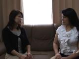 JAV Lesbian Kissing–Yukari/Misako Sofa