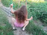 Twerking Time With Russian Girl