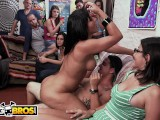 BANGBROS – Tasha Reign, Rose Monroe & Zoey Monroe Invade College Dorm