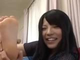 Japanese Girls Self Worshiping Feet