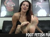 Toe Sucking And POV Femdom Foot Fetish Porn