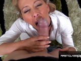 Cherie DeVille Sloppy Hardcore Blowjob – FirstClassPOV