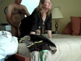 Cheating Wife Gets Hot Creampie From Her Boss On Business Trip