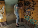 Lessia-Mia: Disgusting Toilet, I'll Rather Pee Myself