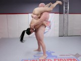 Mixed Nude Wrestling With Song Lee Battling Thor – Evolved Fights
