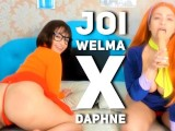 Welma X Daphne Scooby Doo – JOI PORTUGUES! Jerk Off Instruction