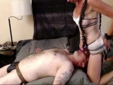 Slutty Maids Additional Services Pegging And Fucking